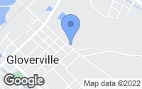 Map of Warrenville, SC