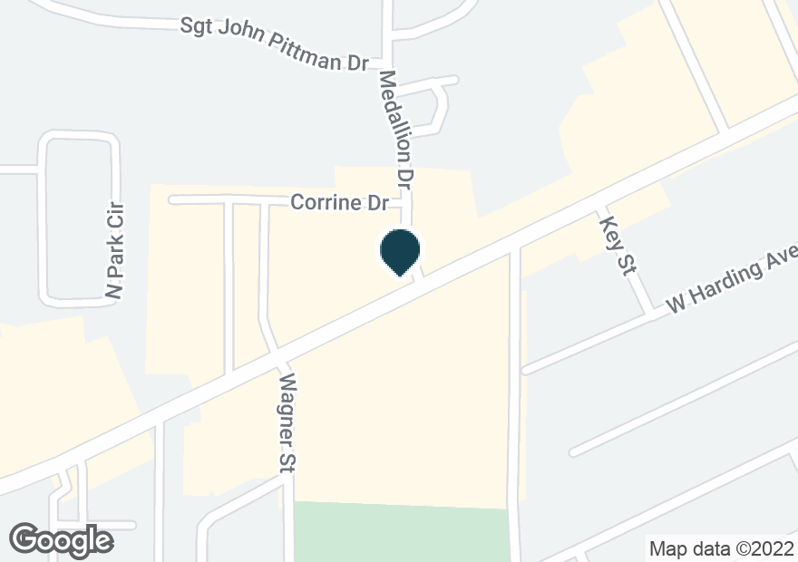 Google Map of700 W PARK AVE