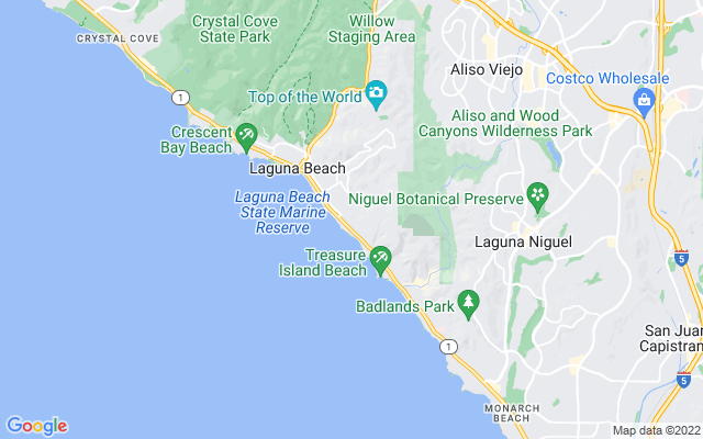 Catalina on the map