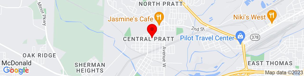 Google Map of 33.5311751, -86.88346560000001