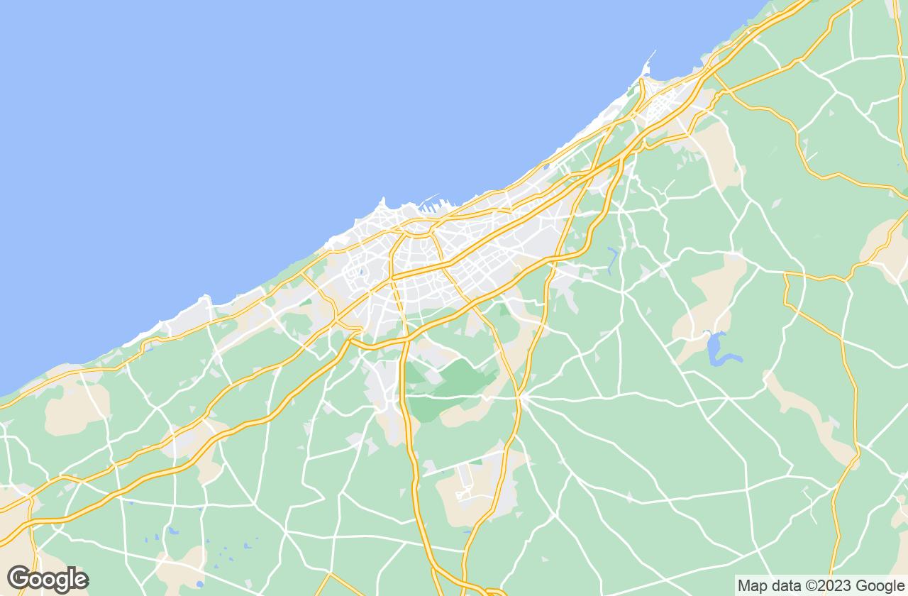Google Map of الدار البيضاء