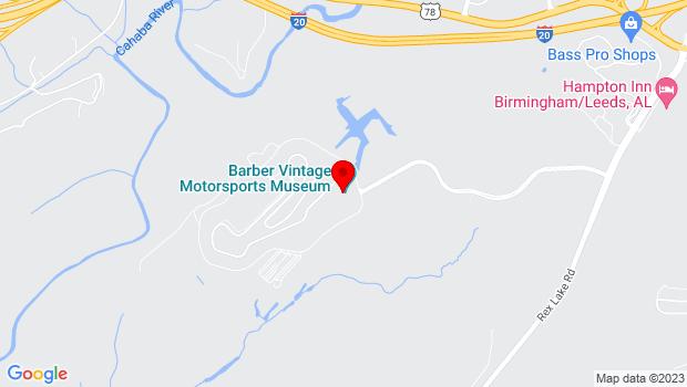 Google Map of 6030 Barber Motorsports Parkway, Birmingham, AL 35094