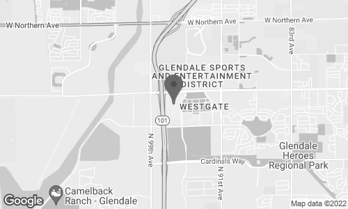 Map of 6800 N. 95 Ave in Glendale