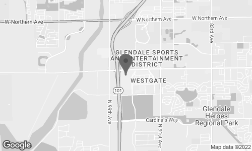 Map of 6800 N. 95 Ave. in Glendale