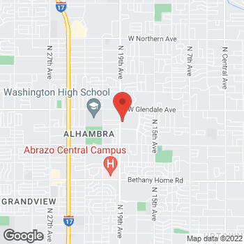 Map of Vikramjeet Saini, MD at 6707 N 19th Avenue, Phoenix, AZ 85015