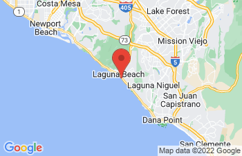 Map of Laguna Beach