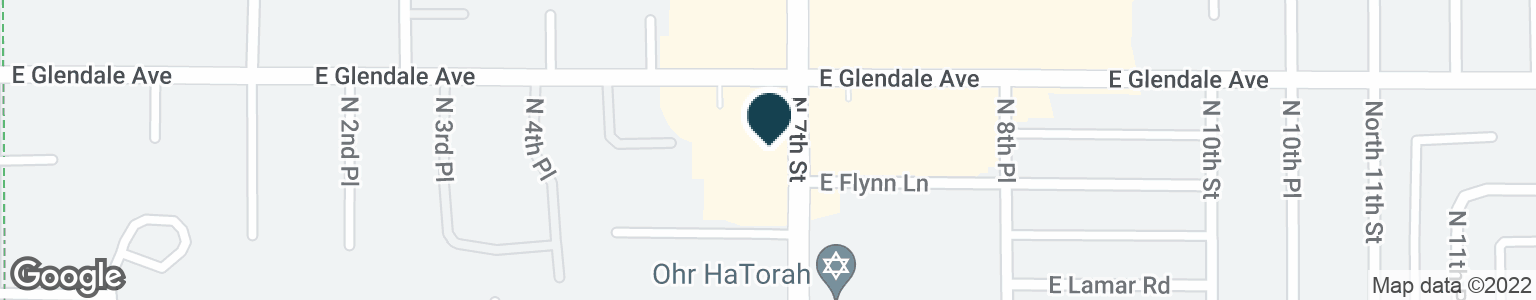 Google Map of6838 N 7TH ST