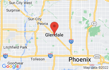 Map of Glendale