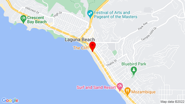 Google Map of 577 S. Coast Highway, Laguna Beach, CA 92651