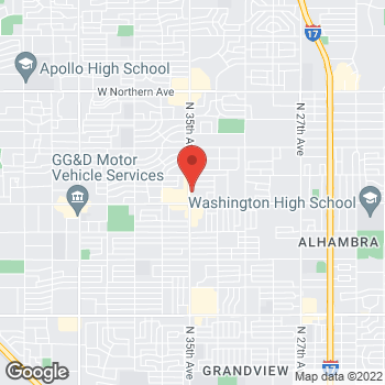 Map of Vazgen Artounian, MD at 7041 N 35th Avenue, Phoenix, AZ 85051