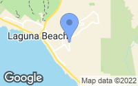 Map of Laguna Beach, CA
