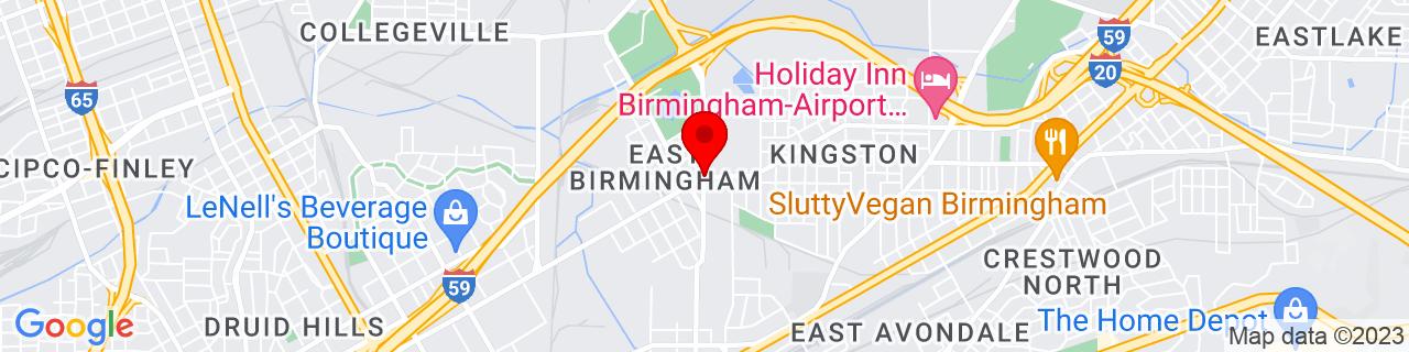 Google Map of 33.54019720000001, -86.778938
