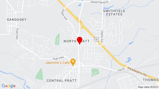 Google Map of 509 Dugan Ave, Birmingham, Alabama 35214