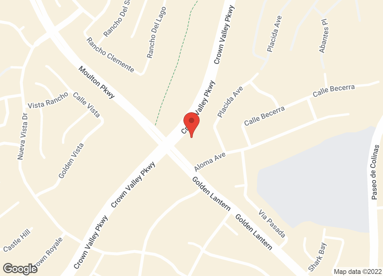 Google Map of VCA Crown Valley Animal Hospital