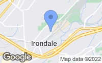 Map of Irondale, AL