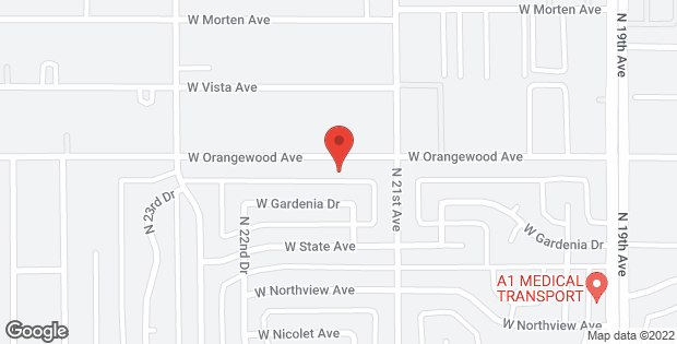 2121 W ORANGEWOOD Avenue Phoenix AZ 85021
