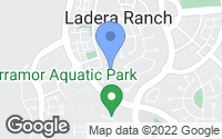 Map of Ladera Ranch, CA