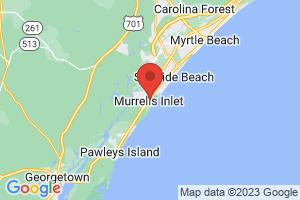 Map of Murrells Inlet
