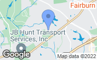 Map of Fairburn, GA