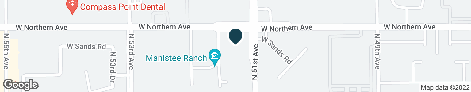 Google Map of5125 W NORTHERN AVE