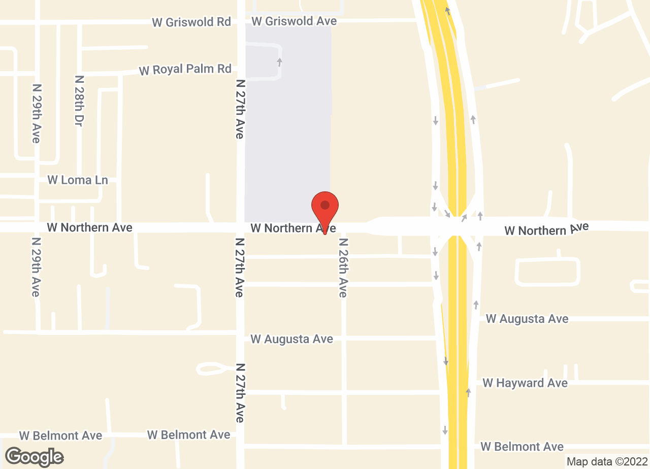 Google Map of VCA Northern Animal Hospital