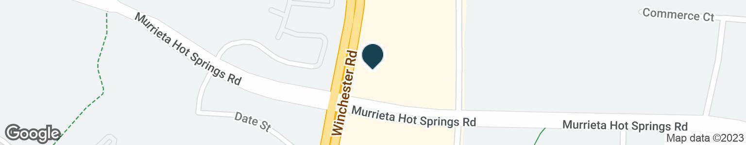 Google Map of29910 MURRIETA HOT SPRINGS RD