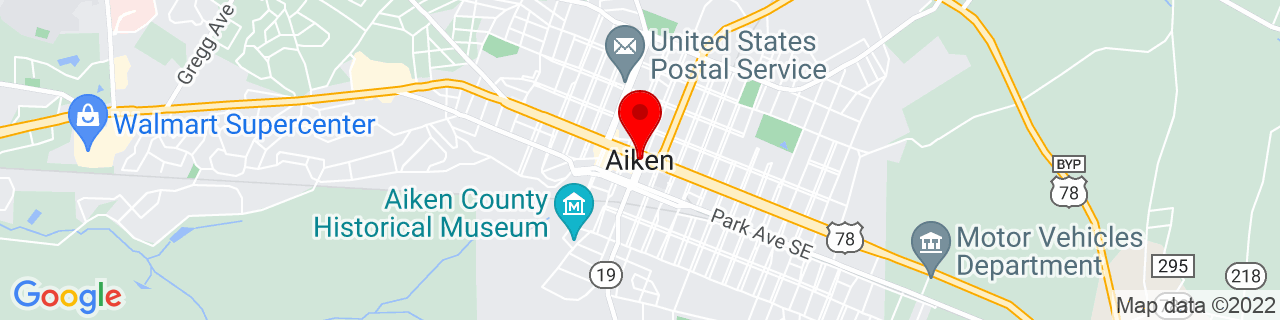 Google Map of 33.5604168, -81.7195533