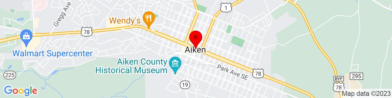 Google Map of 33.56055555555555, -81.71944444444445