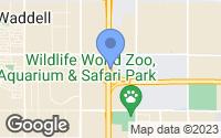Map of Waddell, AZ