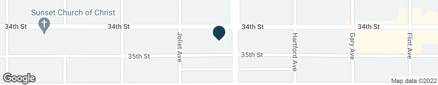 Google Map of3404 INDIANA AVE