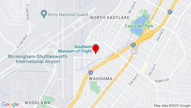 Google Map of 4343 73rd Street North, Birmingham, AL 35206