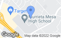 Map of Murrieta, CA