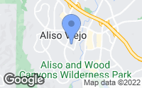 Map of Aliso Viejo, CA