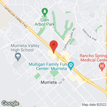 Map of Bed Bath & Beyond at 24450 Village Walk Place, Murrieta, CA 92562