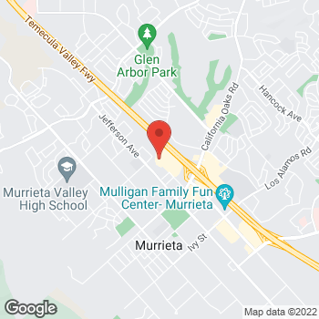 Map of Guitar Center at 24370 Village Walk Place, Murrieta, CA 92562