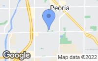 Map of Peoria, AZ