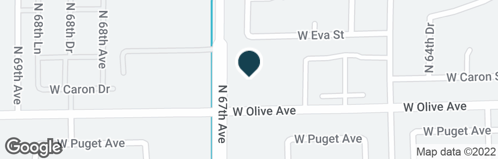 Google Map of9009 N 67TH AVE