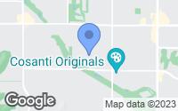 Map of Paradise Valley, AZ