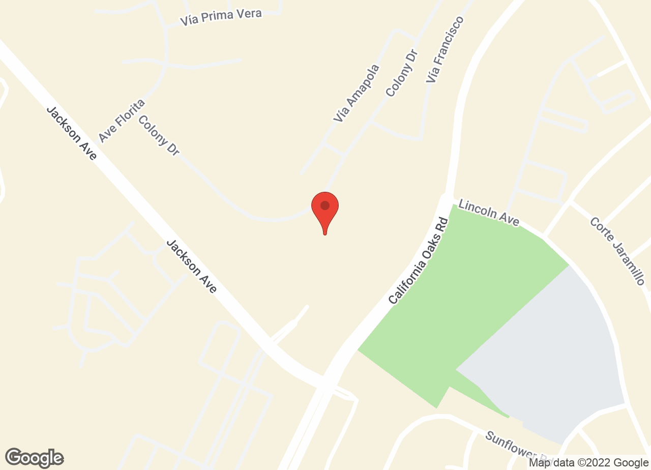 Google Map of VCA California Oaks Animal Hospital