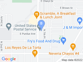 Map of Picture It Pet Sitting LLC Dog Boarding options in Phoenix | Boarding