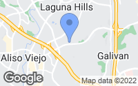 Map of Laguna Hills, CA