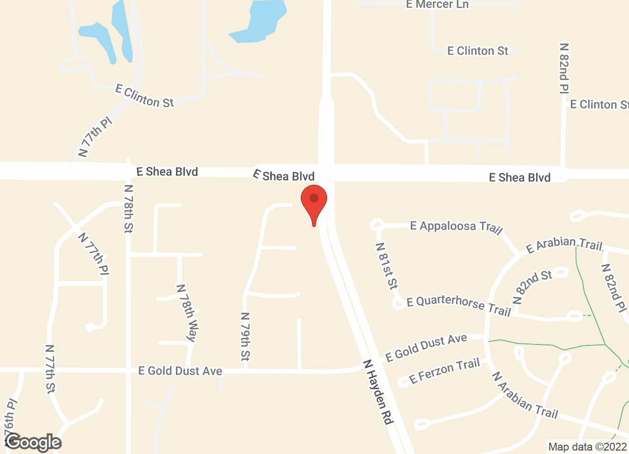 Google Map of VCA McCormick Ranch Animal Hospital and Pet Care Center