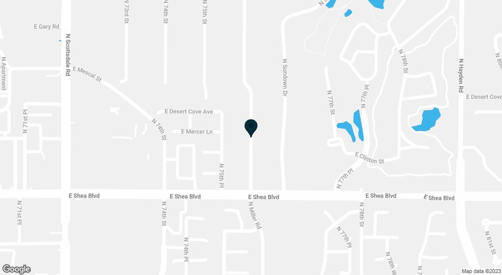 10811 N MILLER Road Scottsdale AZ 85260