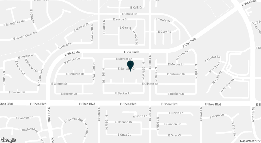 10903 E SAHUARO Drive Scottsdale AZ 85259