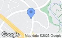 Map of Aliso Viejo, CA