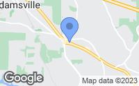 Map of Adamsville, AL