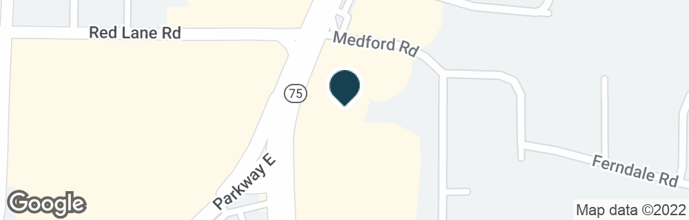 Google Map of9325 PARKWAY E