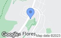 Map of Rancho Santa Margarita, CA