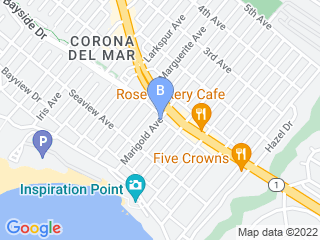 Map of French Connection Dog Boarding options in Corona Del Mar | Boarding