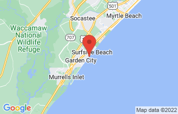Map of Surfside Beach
